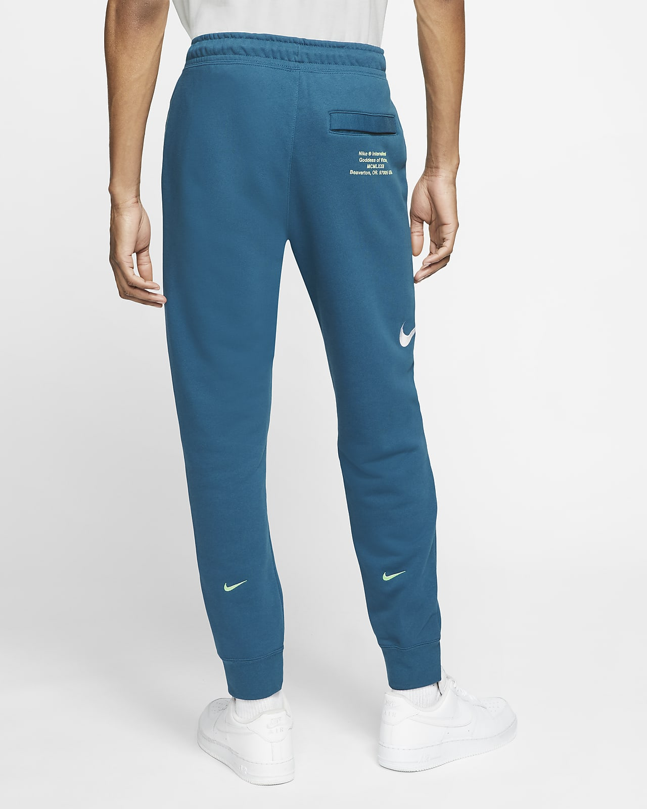 Nike Sportswear Swoosh Men S French Terry Trousers Nike Be