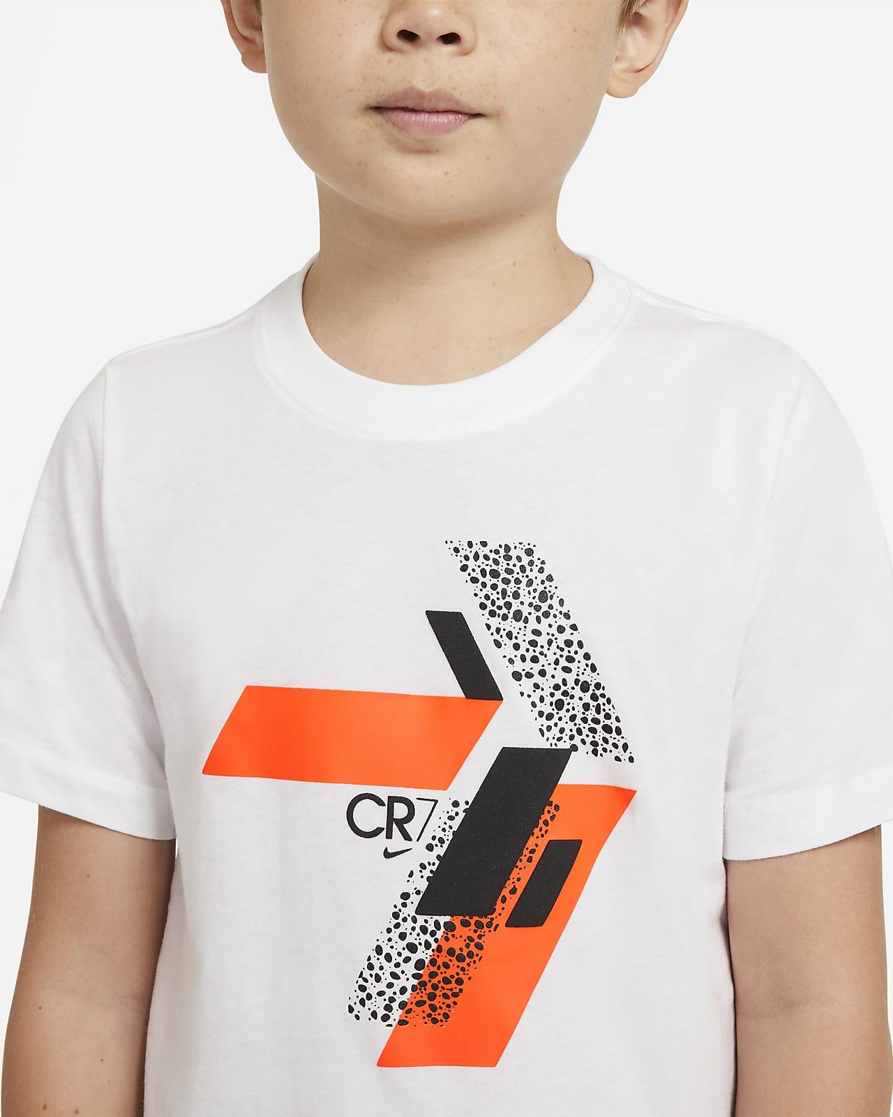 Tee shirt de football CR7 pour Enfant plus âgé