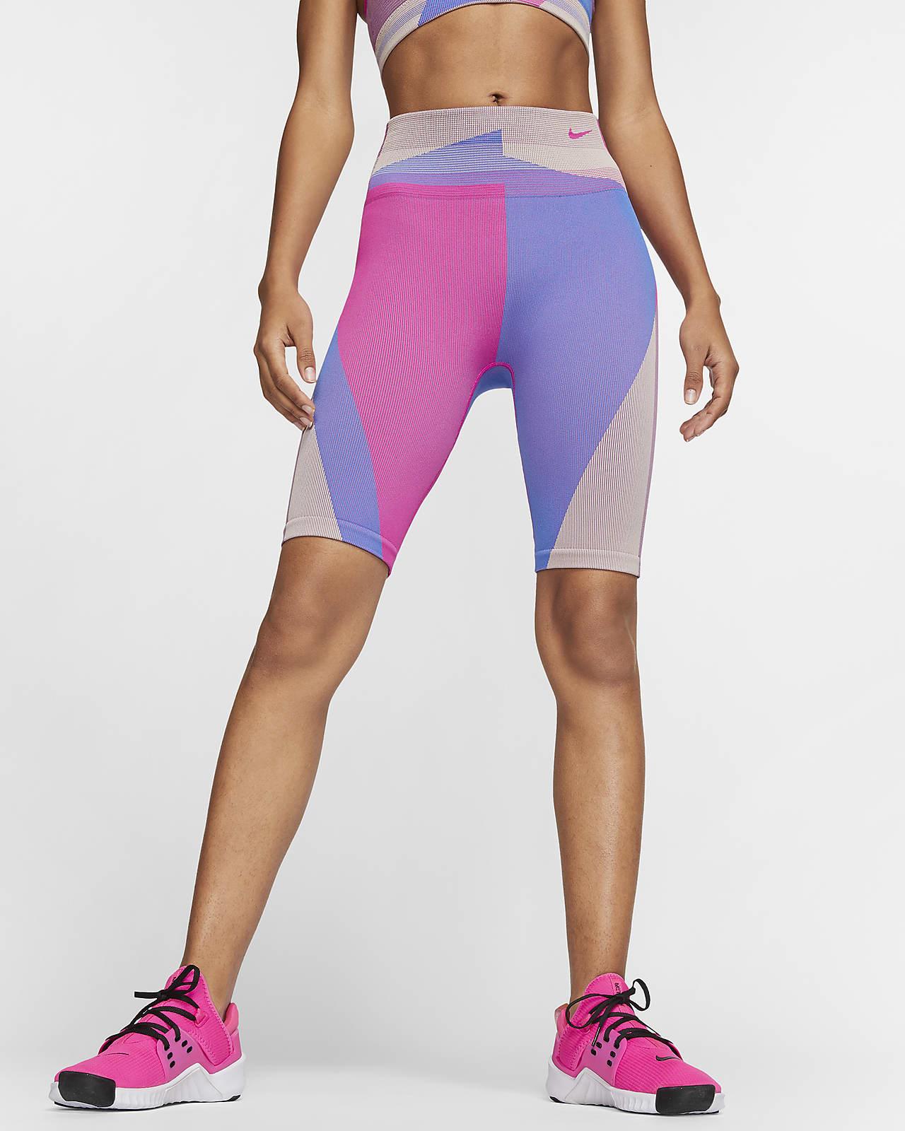 Nike Icon Clash sømløs treningsshorts til dame (20,5 cm)