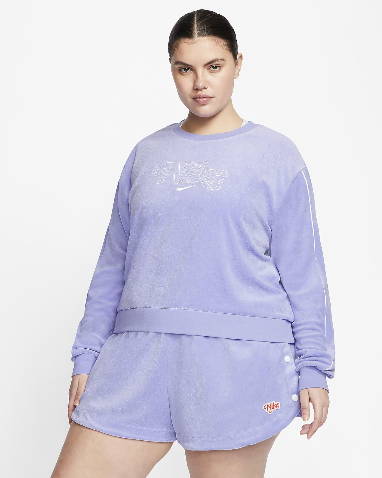 Nike Sportswear Women's French Terry Crew (Plus Size)