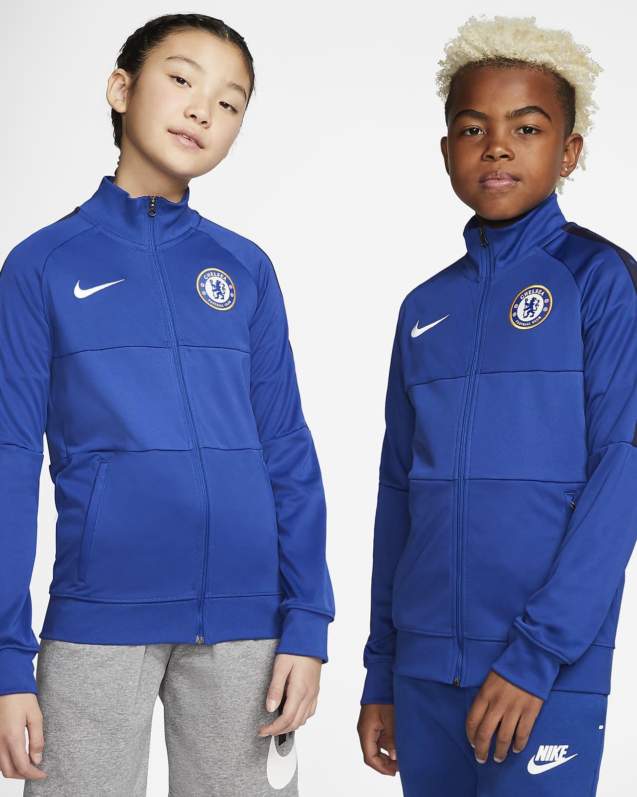 Chelsea F.C. Older Kids' Football Tracksuit Jacket