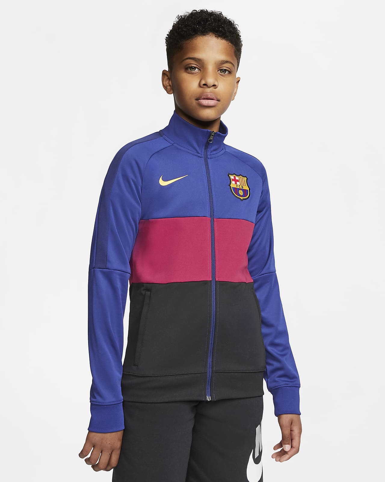 Nike Performance FC BARCELONA Veste de survêtement dark