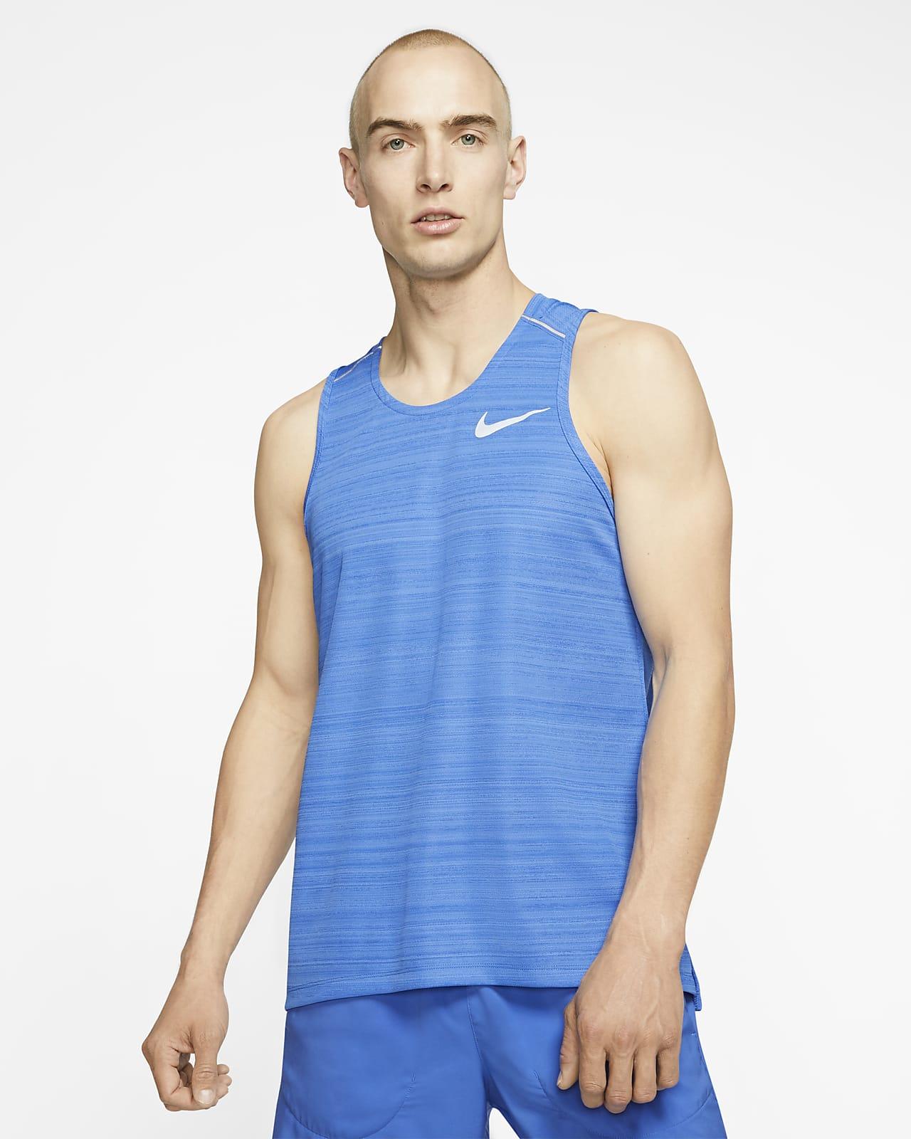 Nike Herren Tank Top Dri-fit Miler