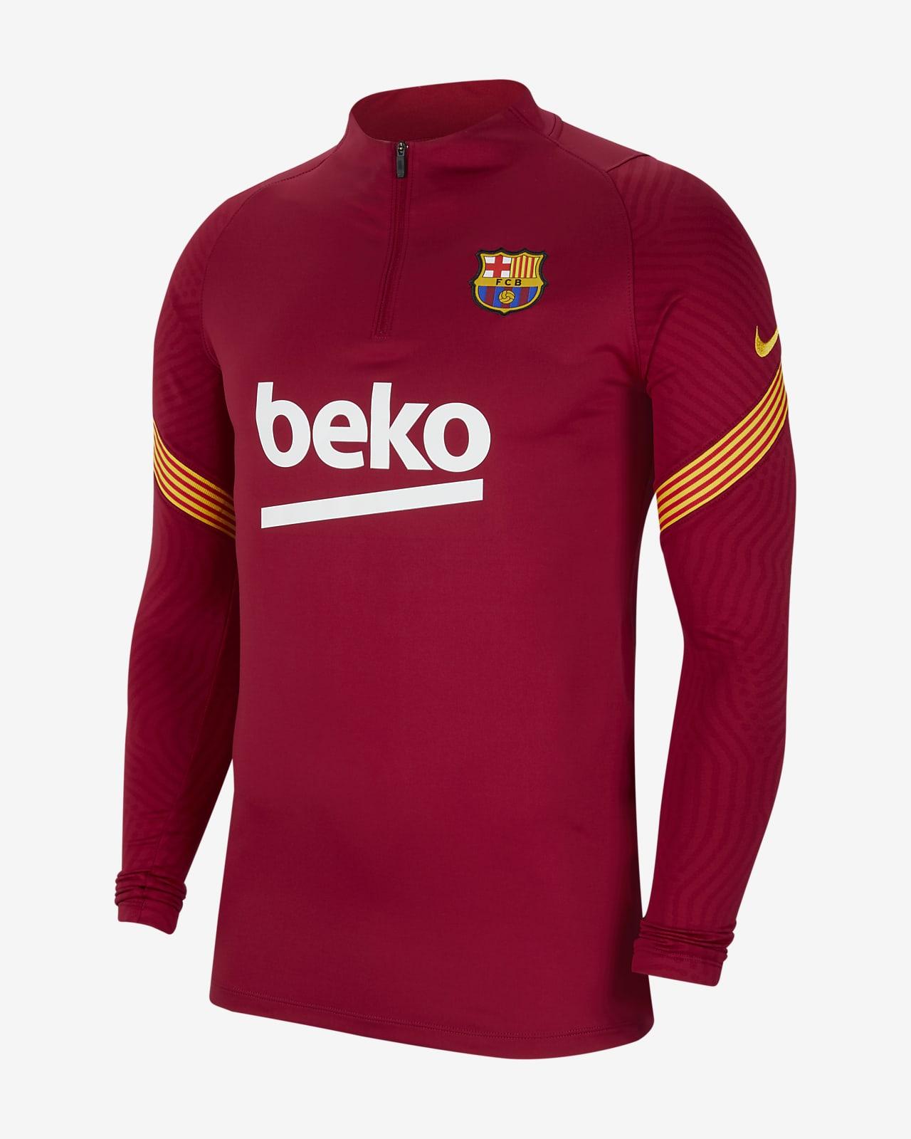 Męska koszulka piłkarska FC Barcelona Strike Drill