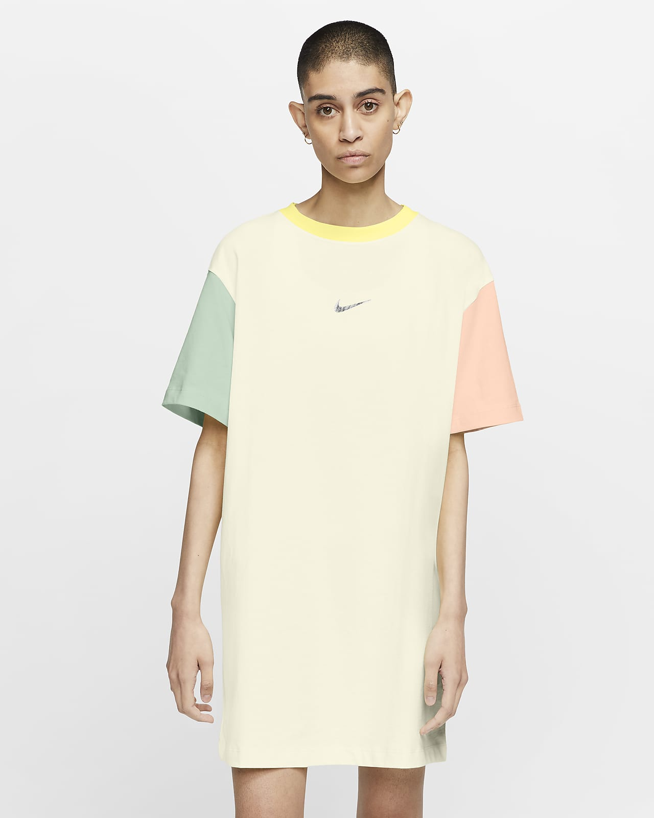 Платье с логотипом Swoosh Nike Sportswear