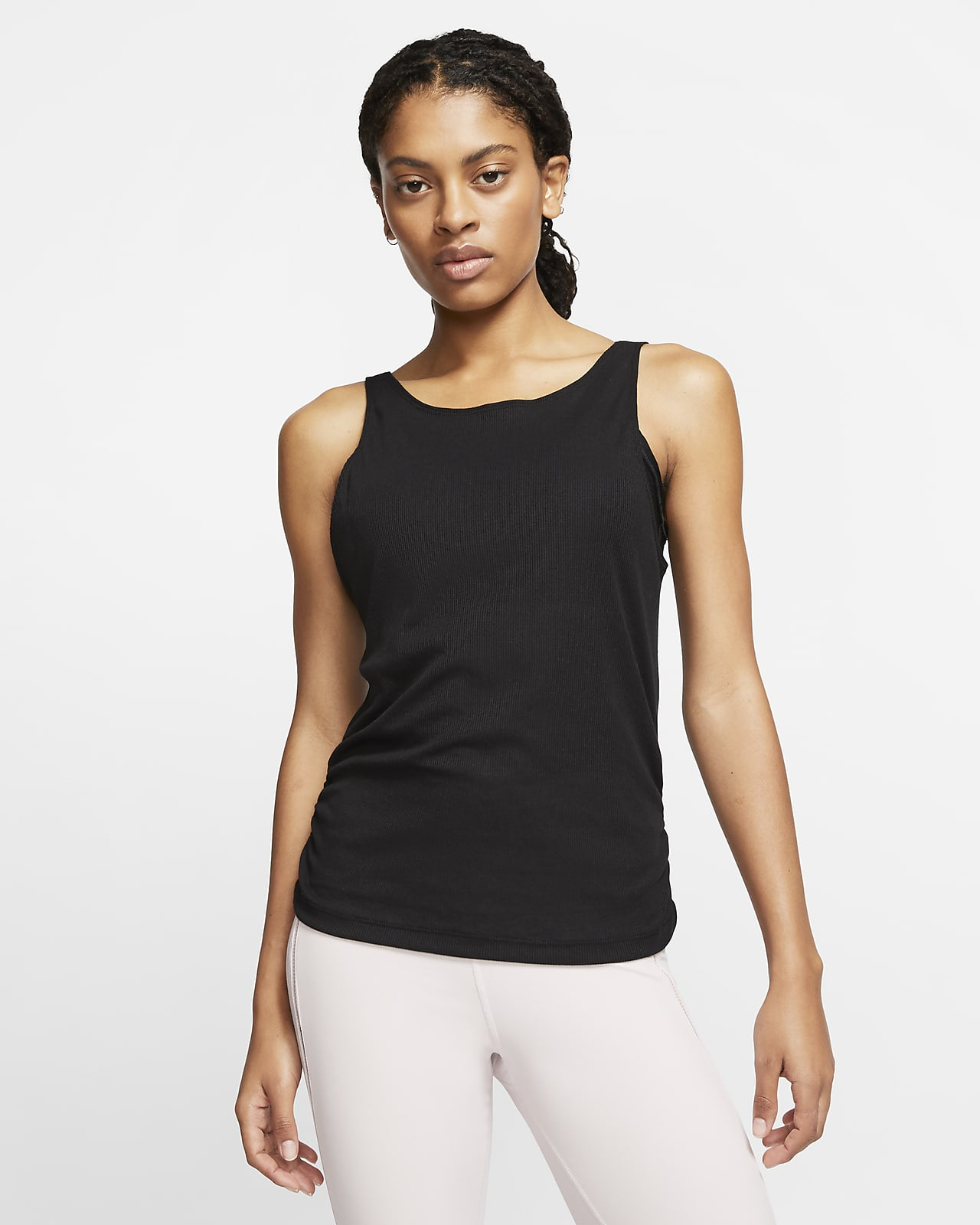 Nike Yoga Women's Ruched Tank