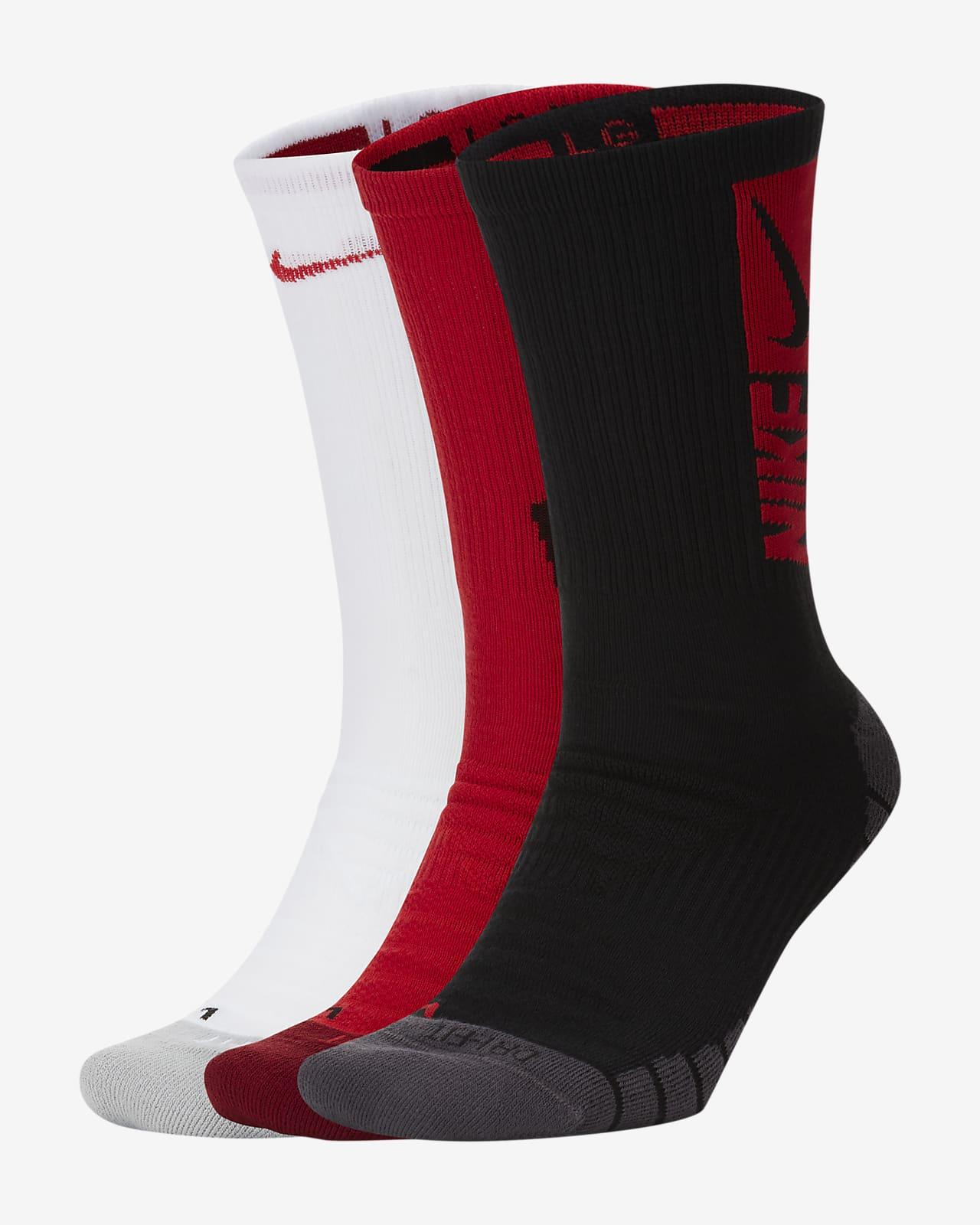 Nike Everyday Max Cushioned Training Crew Socks (3 Pairs)