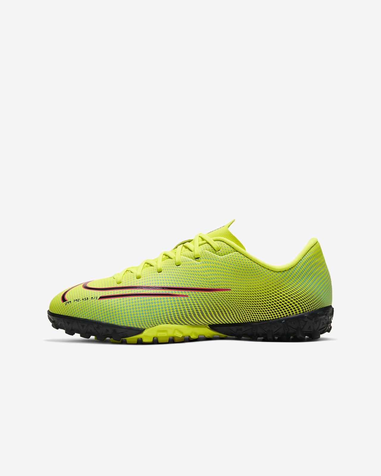Nike Jr. Mercurial Vapor 13 Academy MDS TF Voetbalschoen voor kleuters/kids (turf)