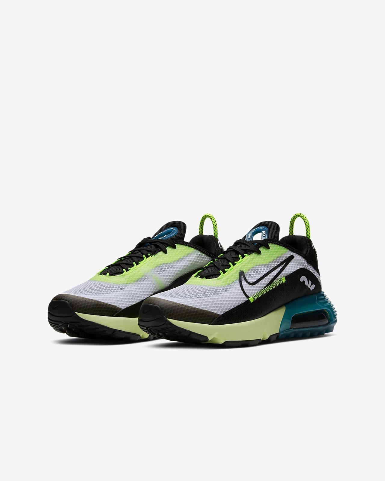 nike zapatillas verdes niño