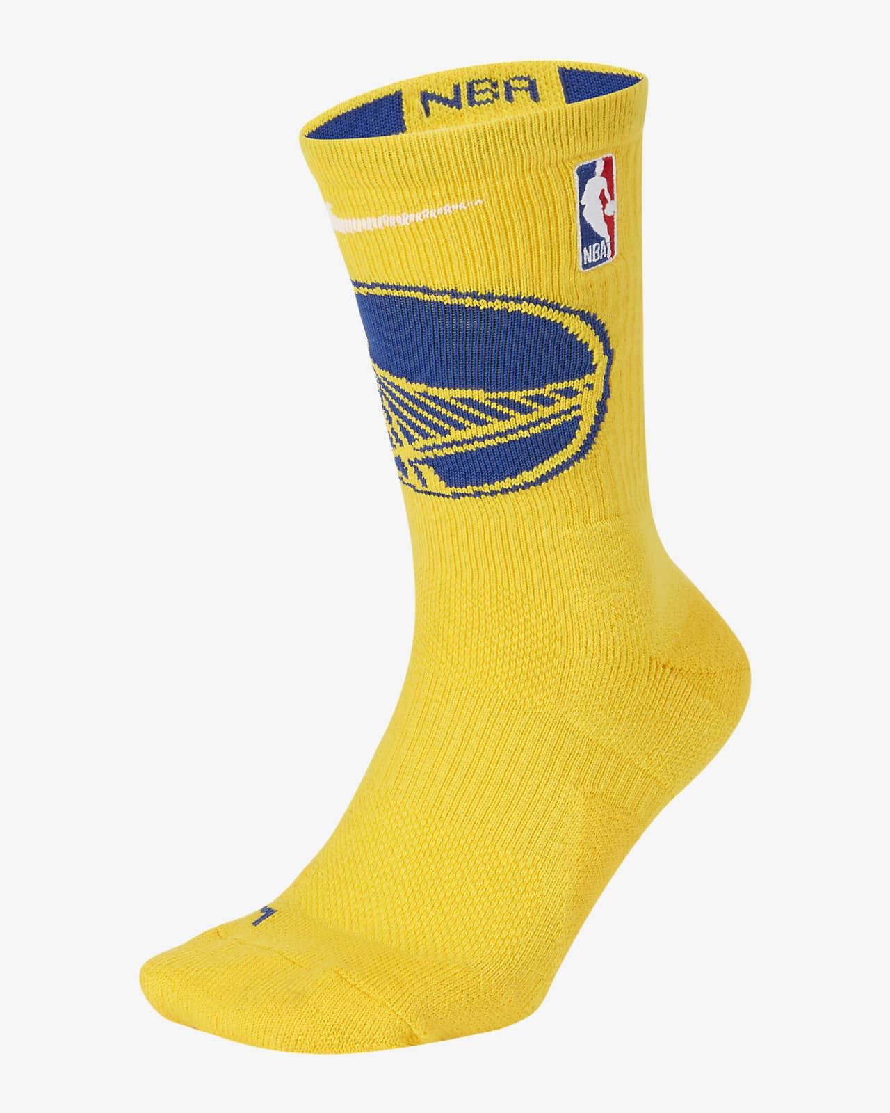 Golden State Warriors Nike Elite NBA Crew Socks