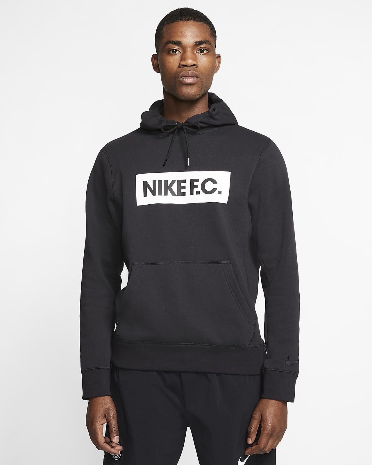 Nike F.C. Men's Pullover Fleece Football Hoodie