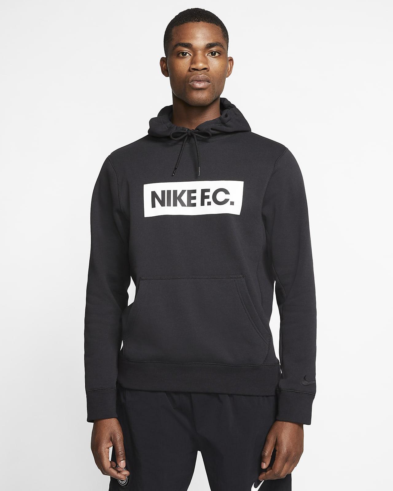 Męska piłkarska bluza z kapturem z dzianiny Nike F.C.