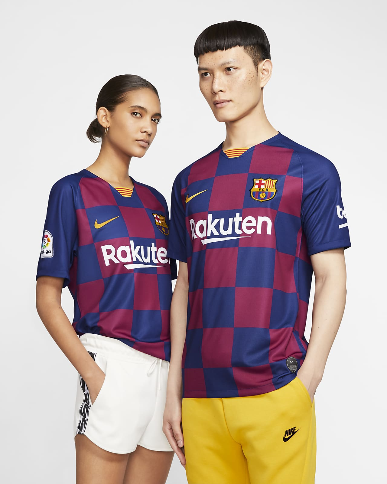 Fc Barcelona 2019 20 Stadium Home Men S Soccer Jersey Nike Com