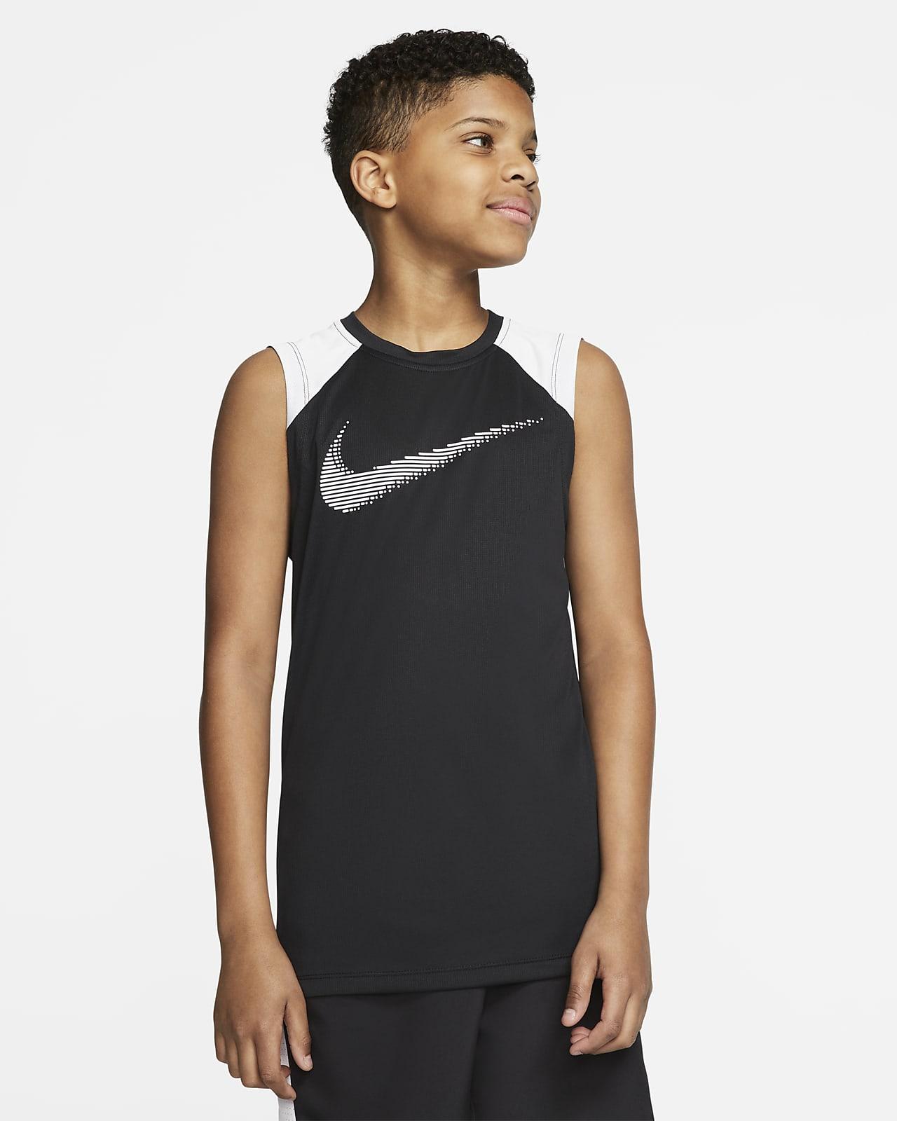 Nike Older Kids' (Boys') Sleeveless Graphic Training Top