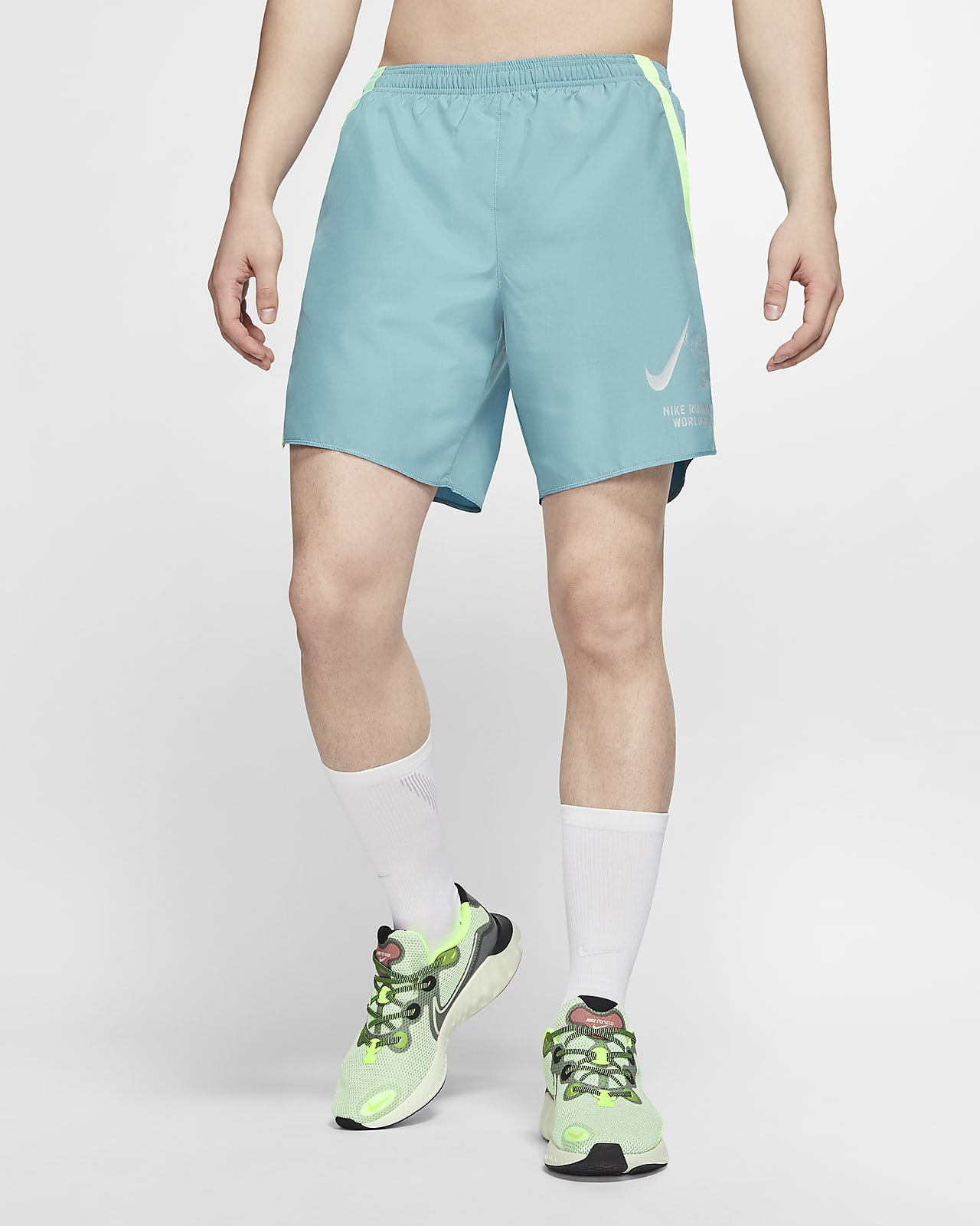 Nike Challenger Wild Run Men's 18cm (approx.) Brief-Lined Running Shorts
