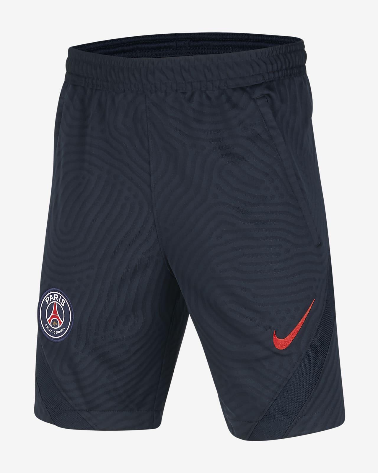 Shorts de fútbol jacquard para niños talla grande Paris Saint-Germain Strike