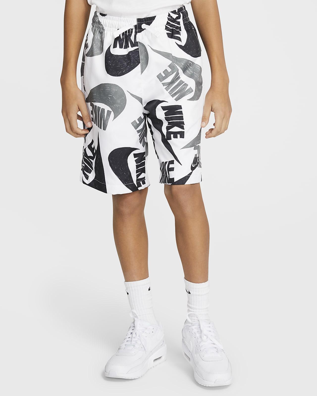Nike Sportswear Older Kids' (Boys') Woven Printed Shorts