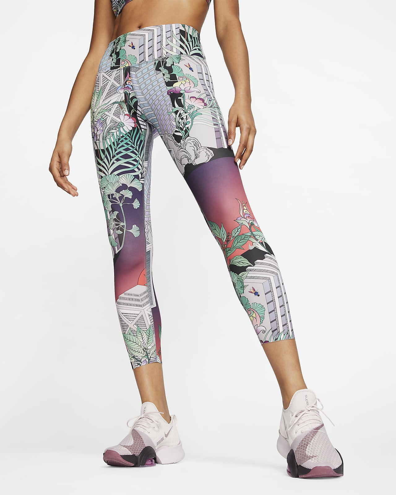 Nike Epic Luxe 7/8-Lauf-Leggings für Damen