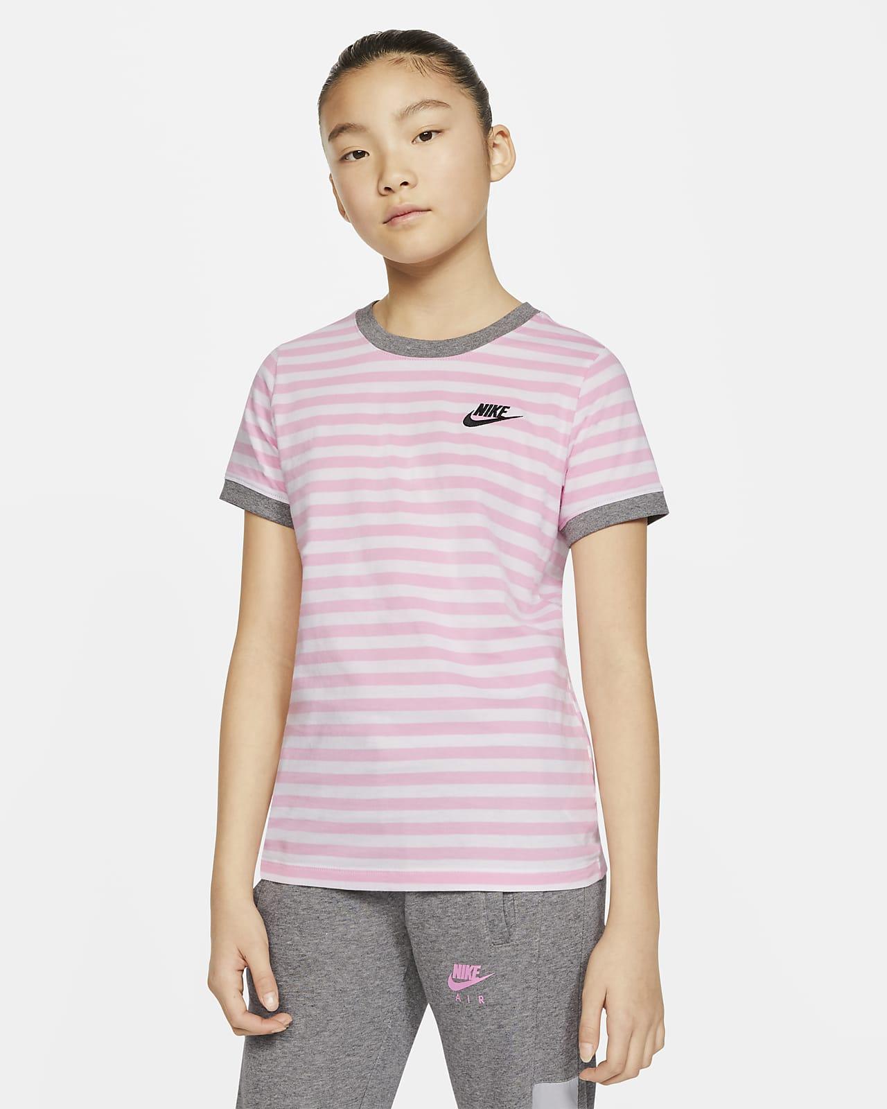 Nike Sportswear-T-shirt til store børn (piger)