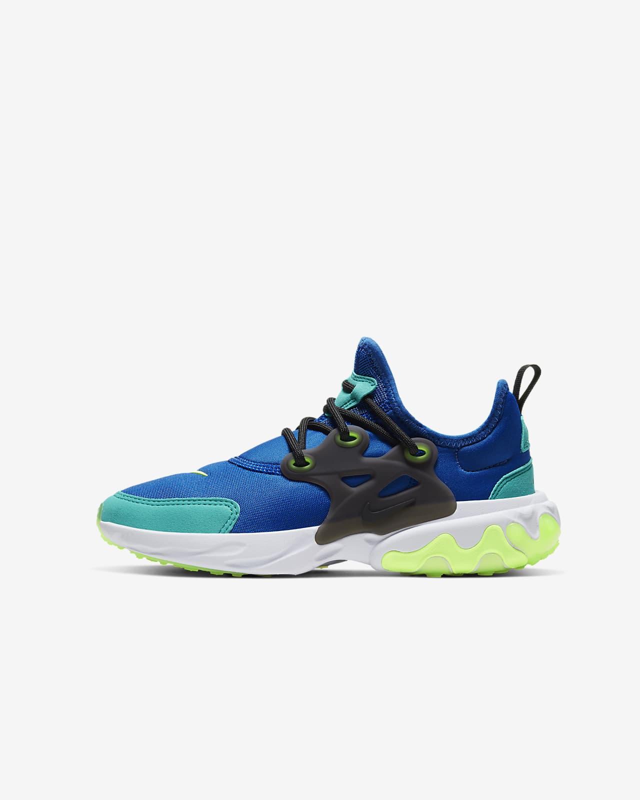 Nike React Presto Big Kids' Shoe. Nike.com