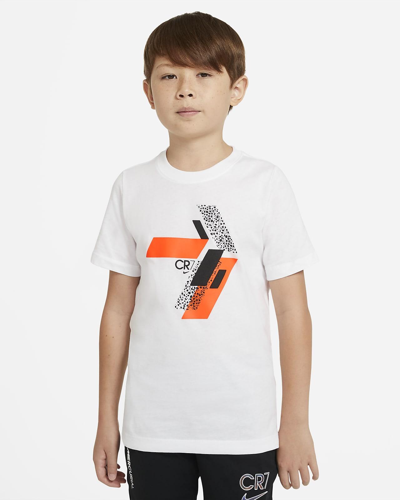 CR7 Older Kids' Football T-Shirt