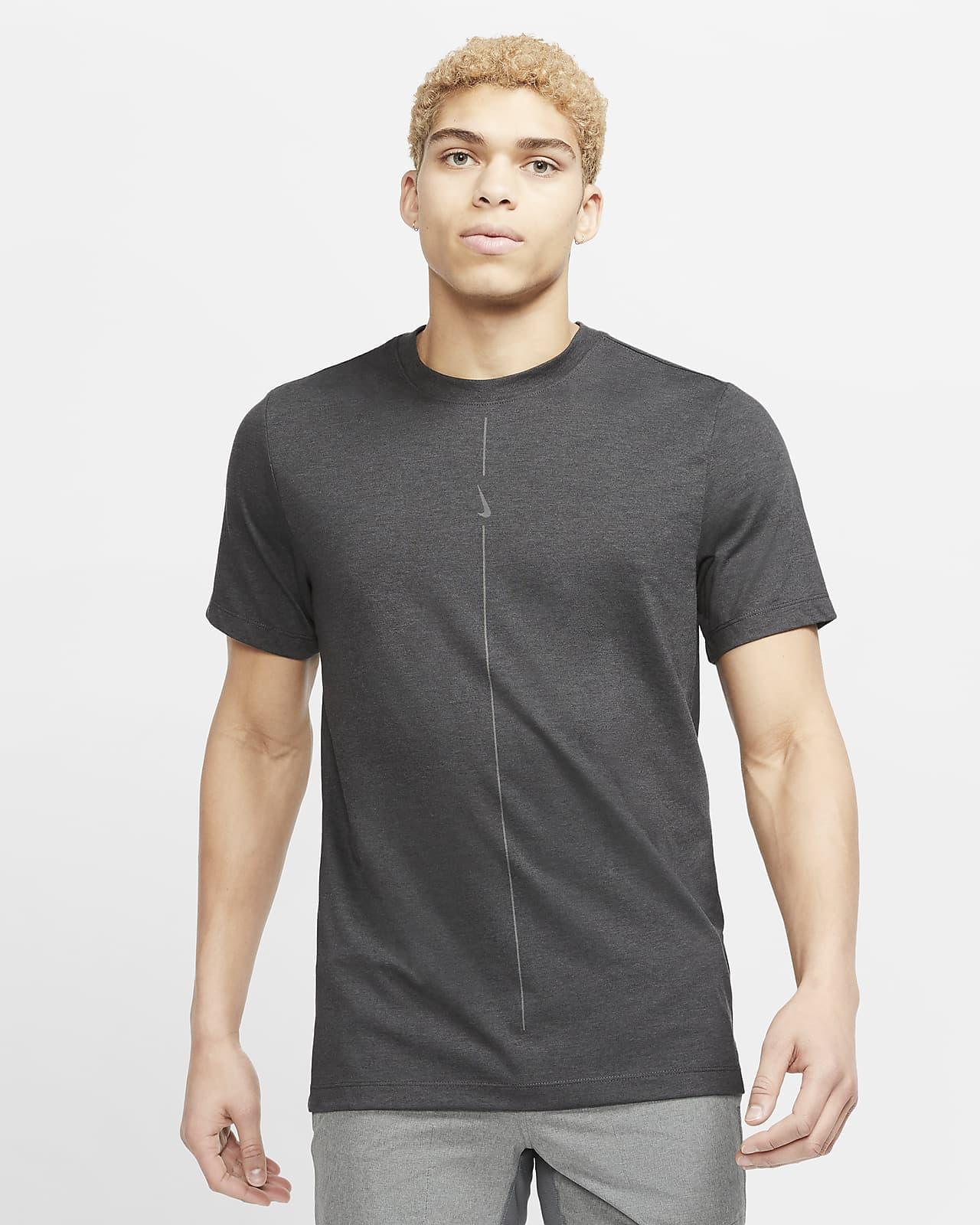 T-shirt Nike Yoga Dri-FIT för män