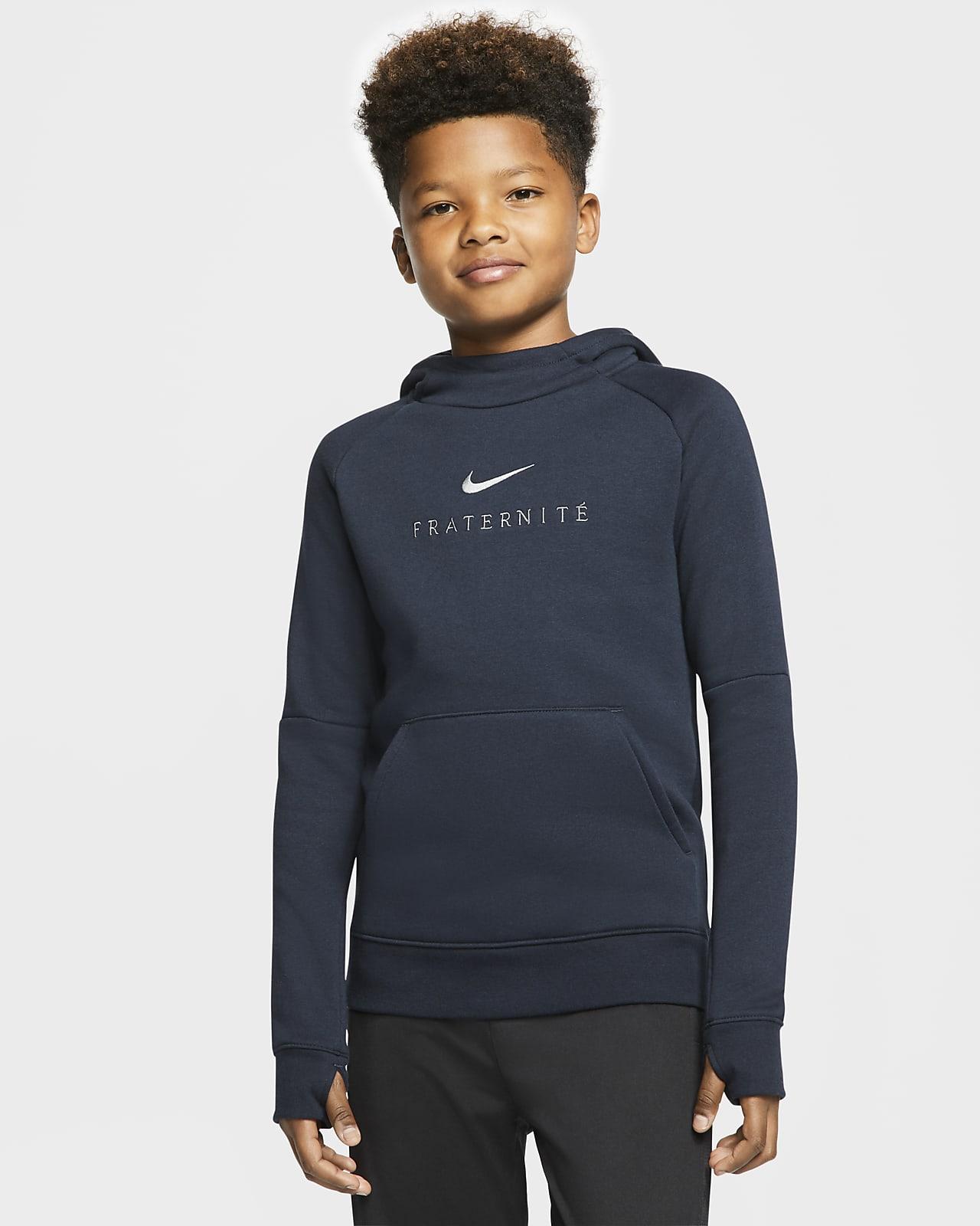 FFF Older Kids' Fleece Pullover Football Hoodie