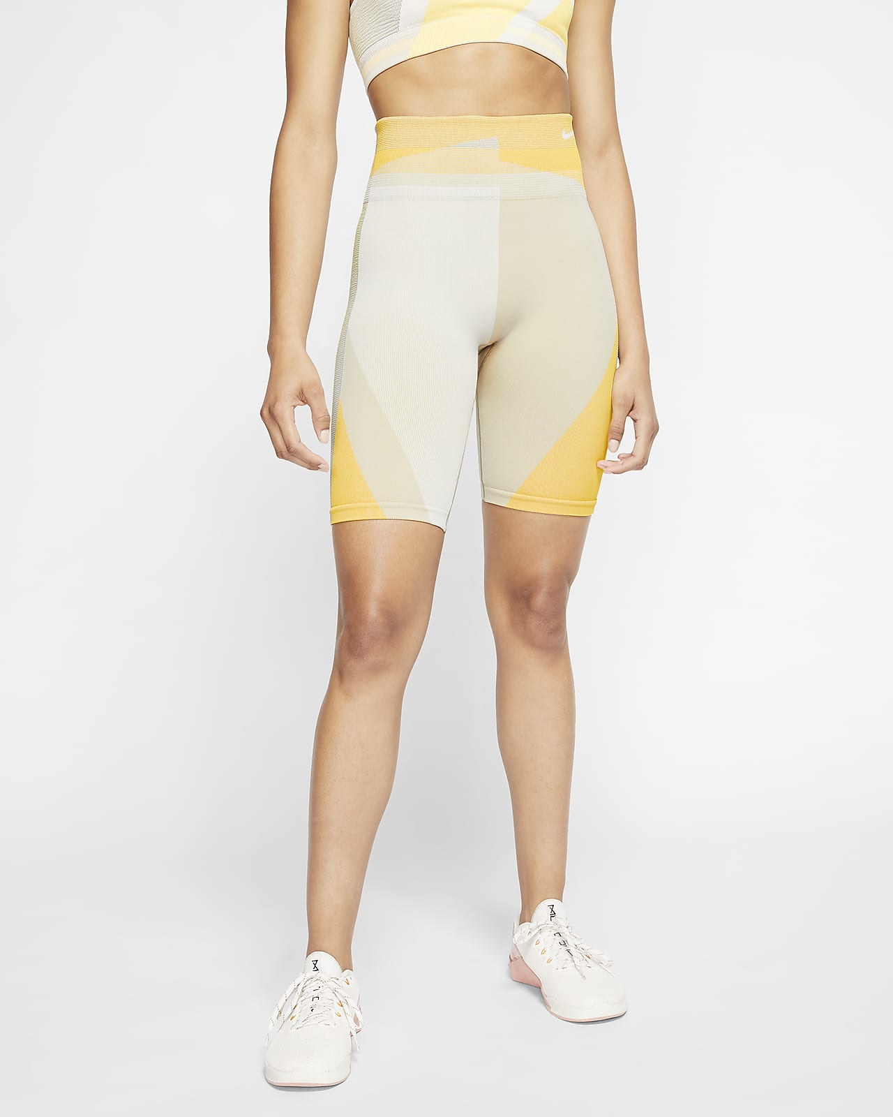 Nike Icon Clash Women's Seamless 20cm (approx.) Training Shorts