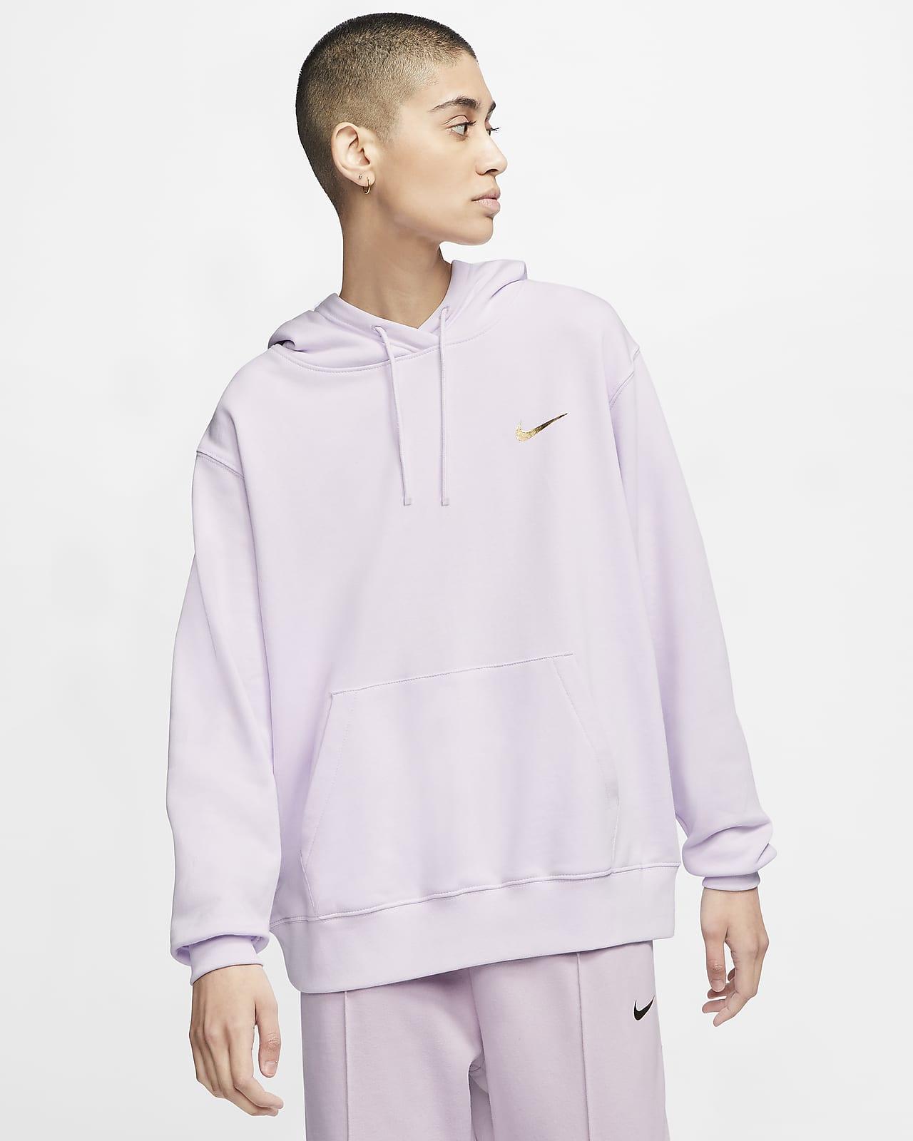 Nike Sportswear Swoosh Pullover hettegenser til dame