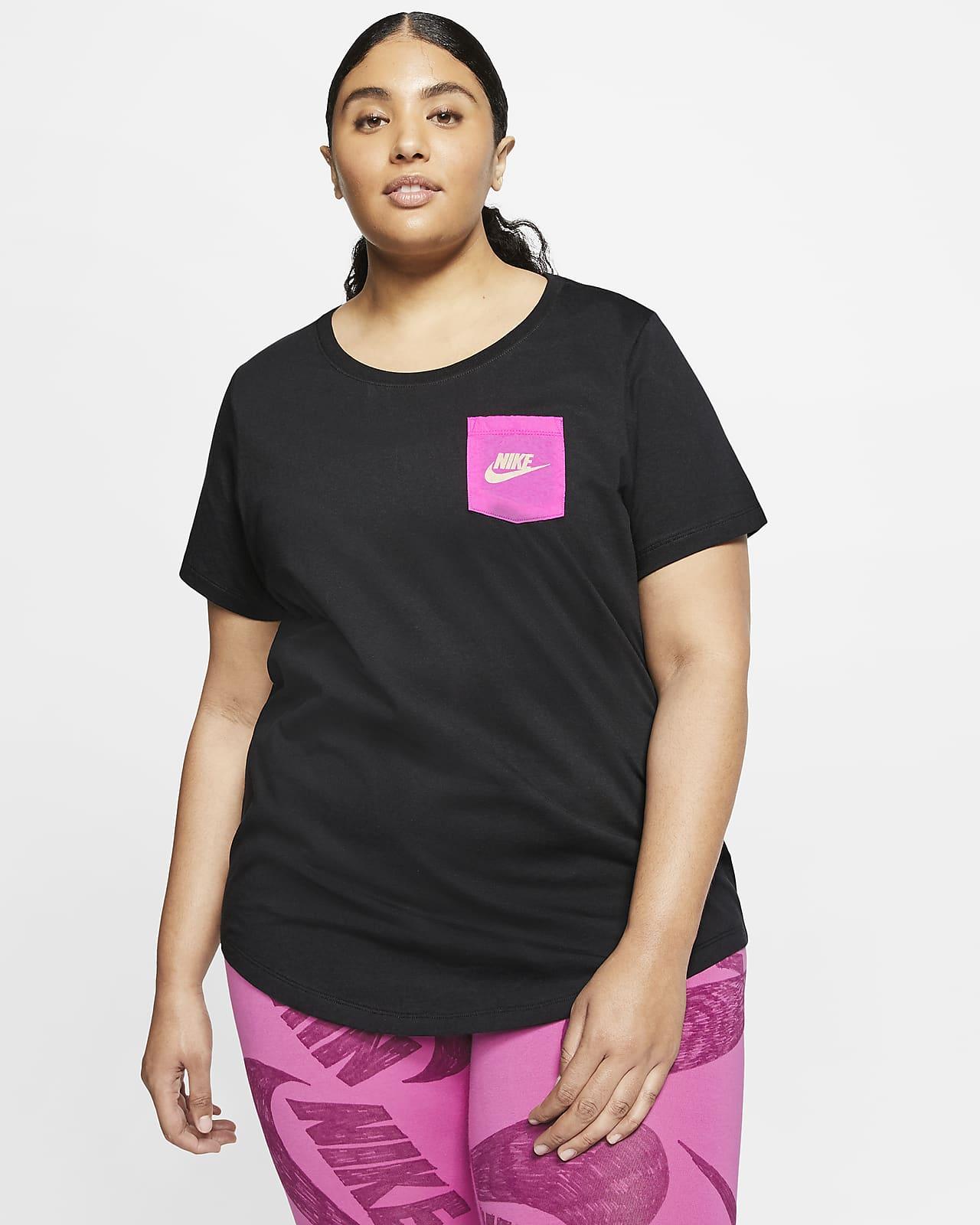 T-shirt Nike Sportswear Icon Clash para mulher (tamanhos grandes)