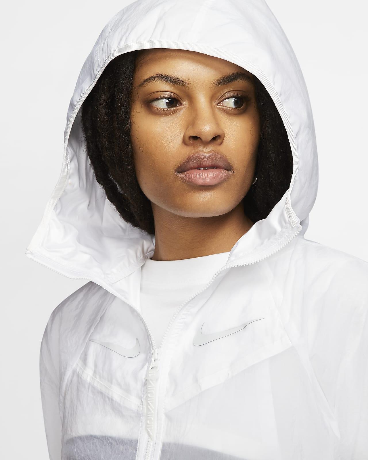 Nike Sportswear vevd jakke til dame. Nike NO