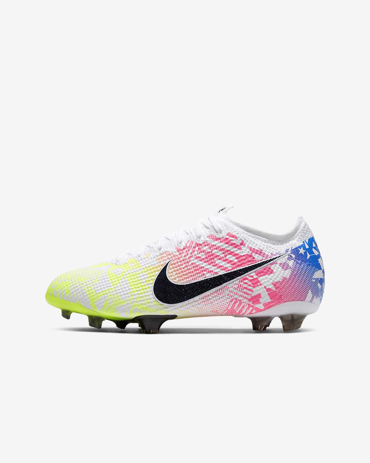 Nike Jr. Mercurial Vapor 13 Elite Neymar Jr. FG Botes per a terreny ferm de futbol - Nen/a
