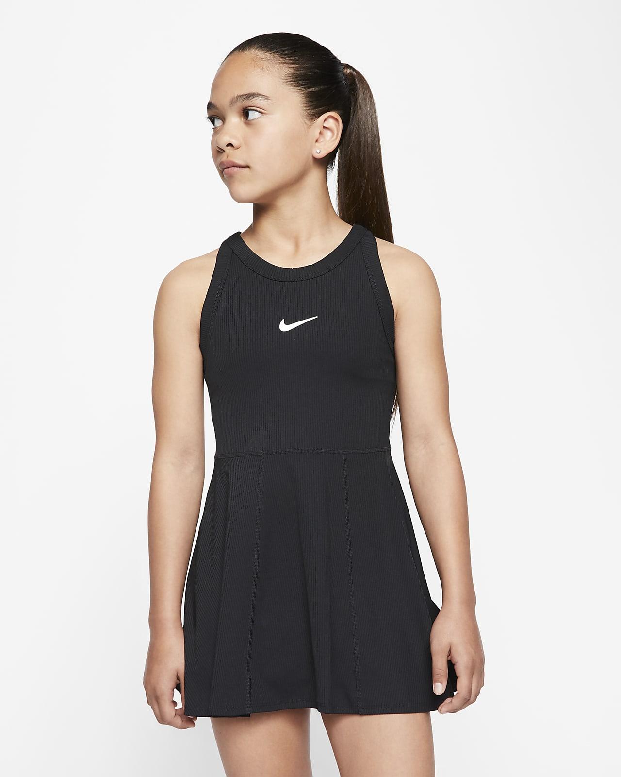 Robe de tennis NikeCourt Dri FIT pour Fille plus âgée