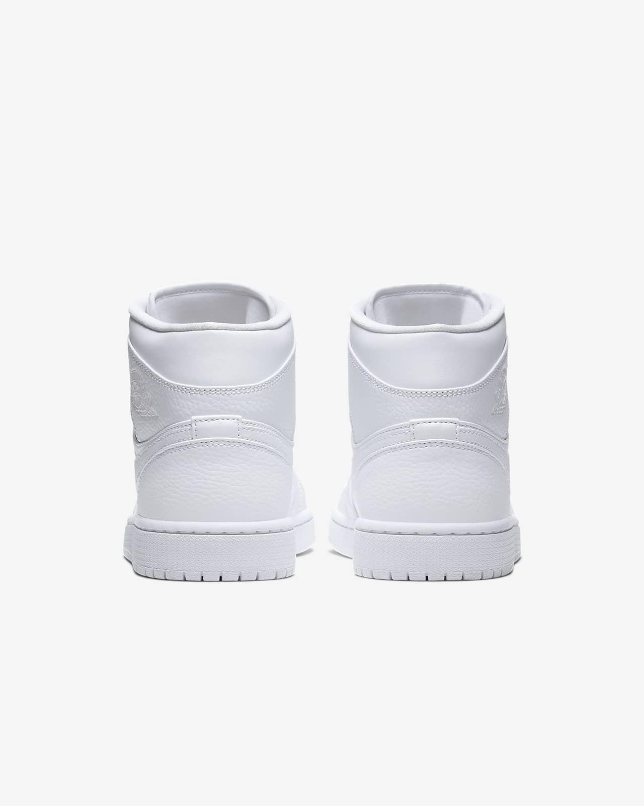 chaussure nike air jordan 1 mid gris