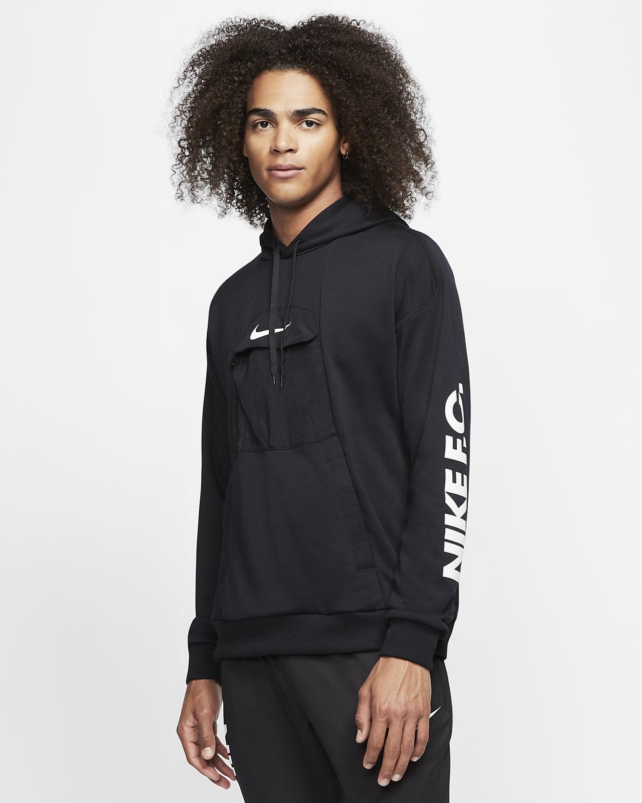 Ανδρική ποδοσφαιρική μπλούζα με κουκούλα Nike F.C.