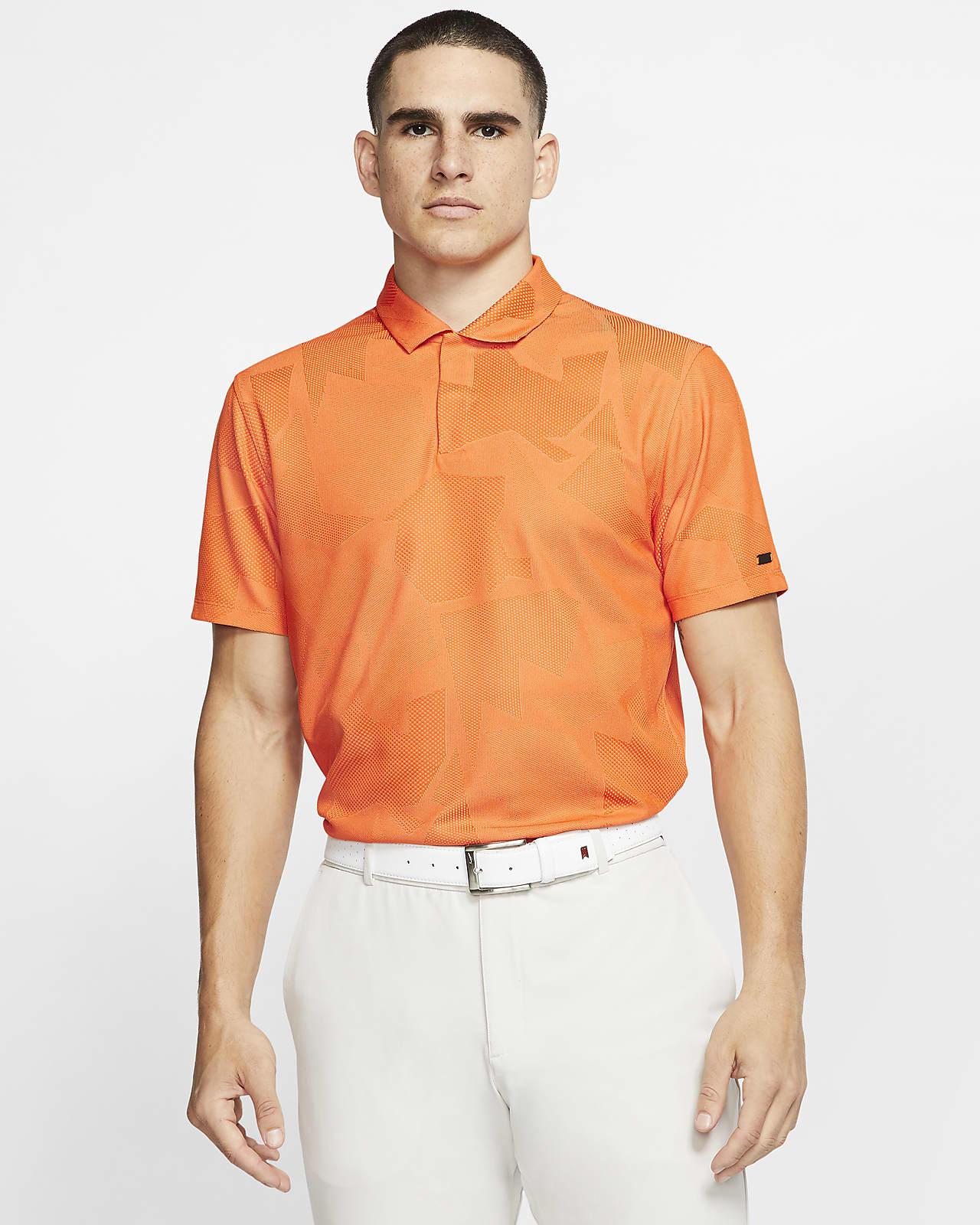Golfpikétröja Nike Dri-FIT Tiger Woods med kamouflagemönster för män