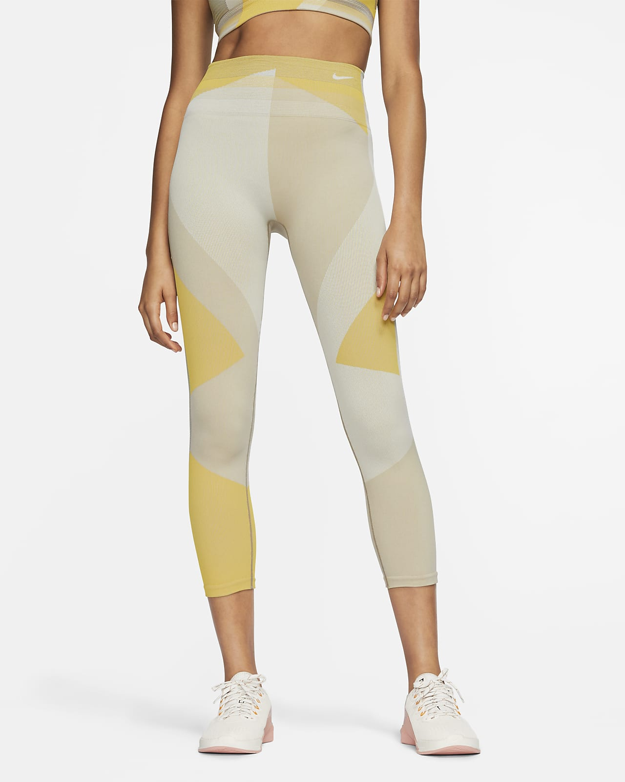 Nike Sculpt Icon Clash nahtlose 7/8-Trainingstights für Damen