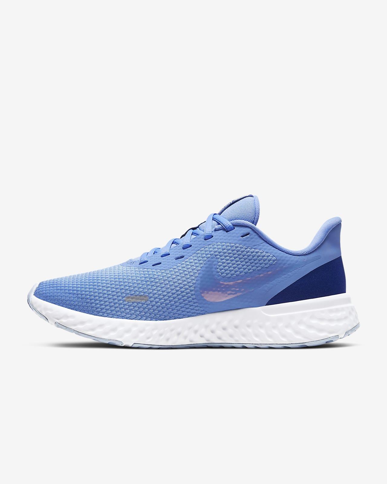 nike blue running