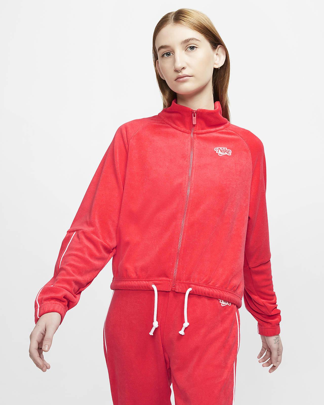 Nike Sportswear Damenjacke mit durchgehendem Reißverschluss