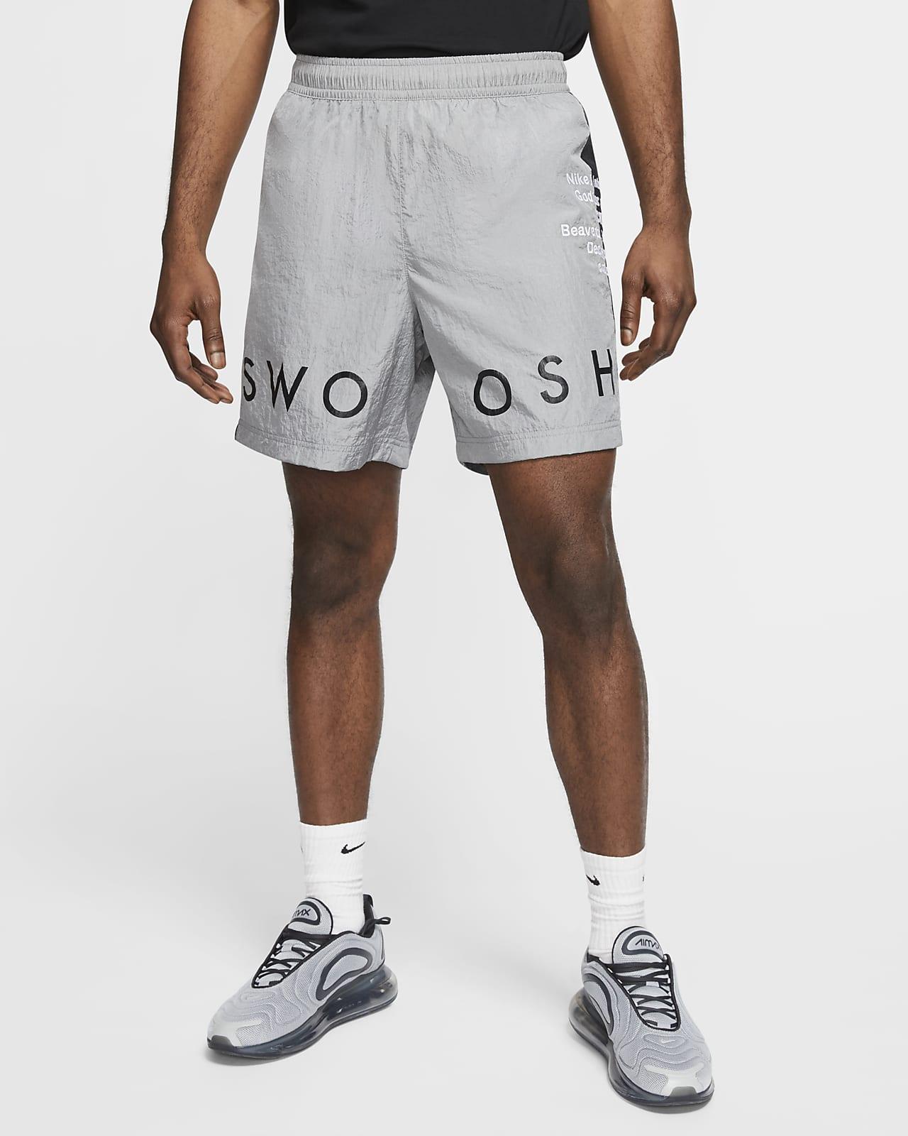 Shorts i vävt tyg Nike Sportswear Swoosh för män
