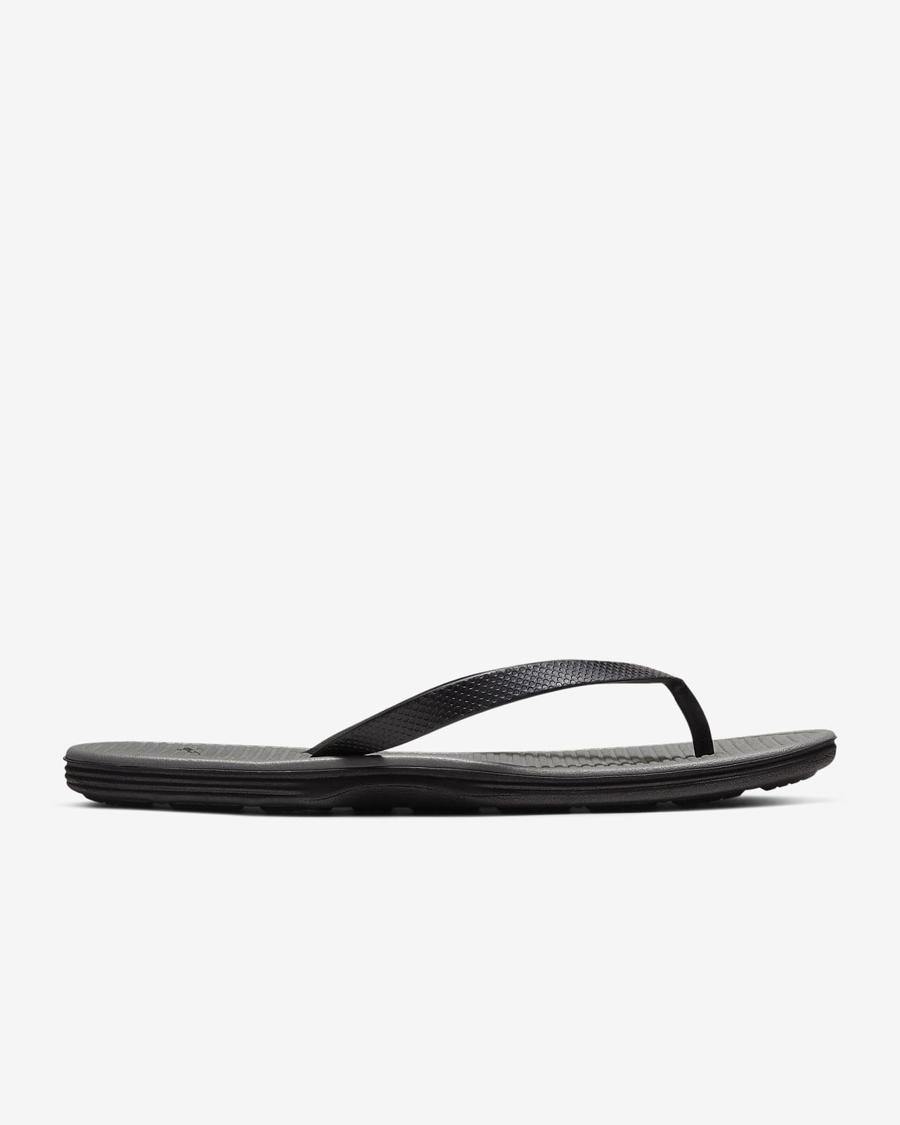 nike flip flops soft