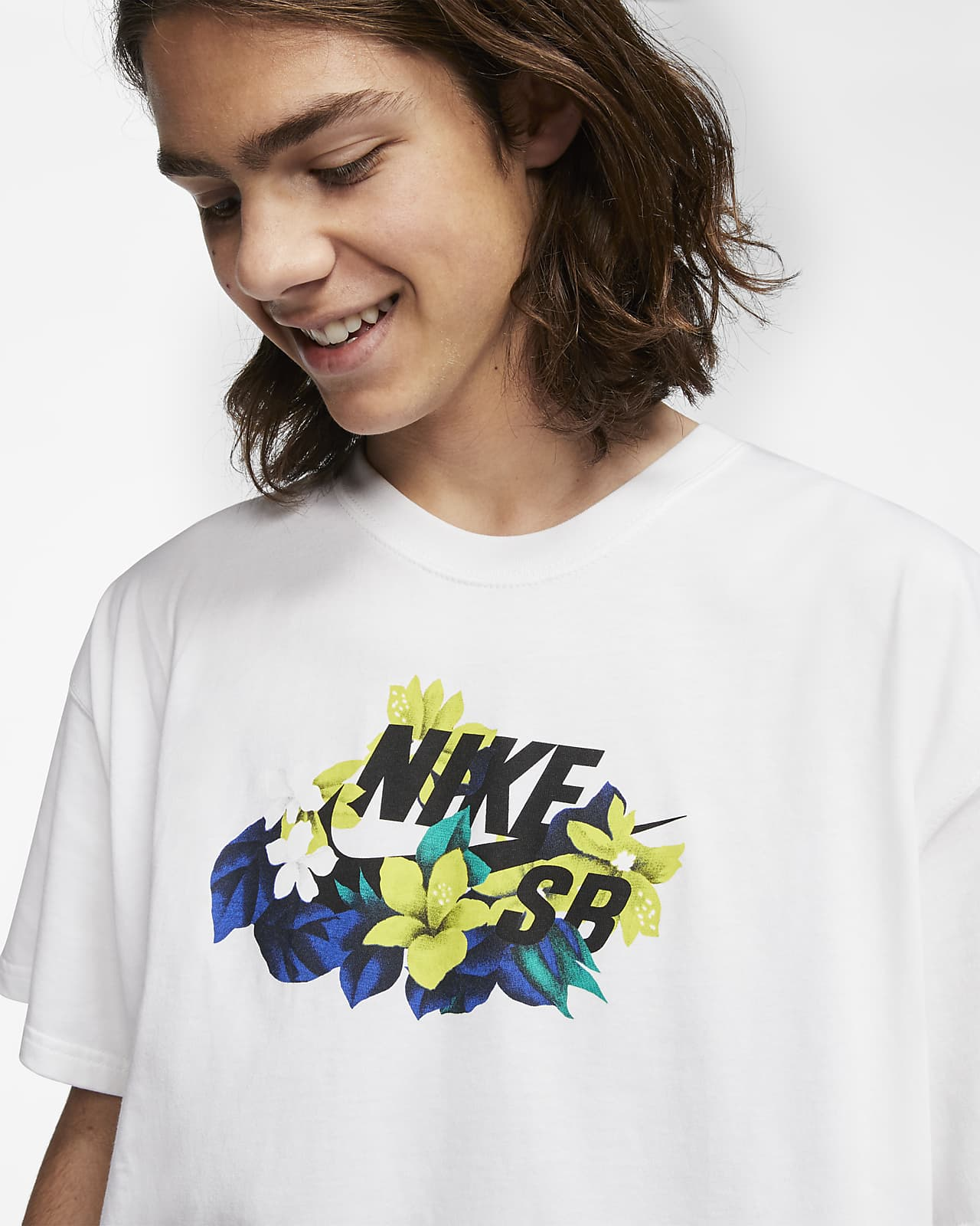 Nike SB Men's Logo Skate T-Shirt. Nike.com