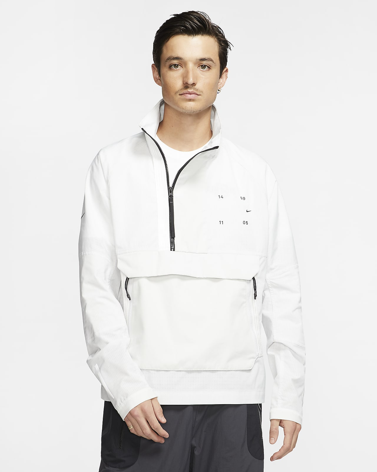white nike jacket
