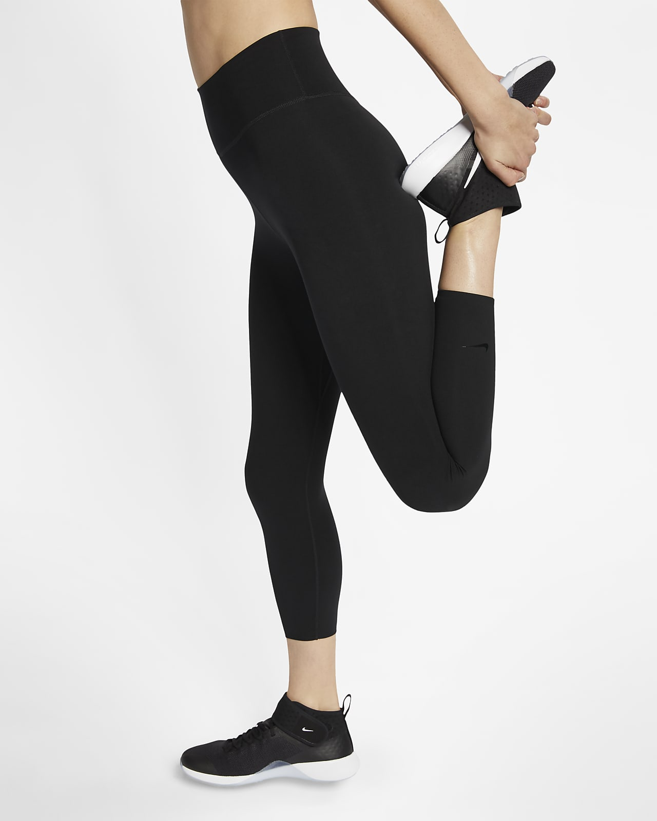 Nike One Luxe Women's Mid-Rise Cropped Tights