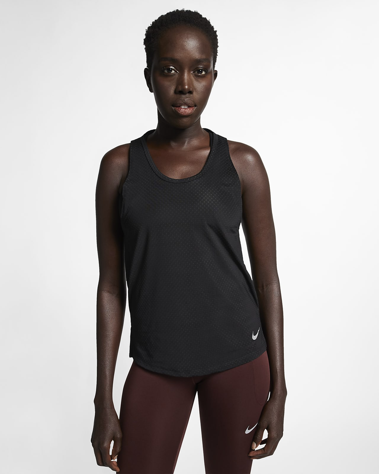 Canotta da running Nike Breathe Miler - Donna