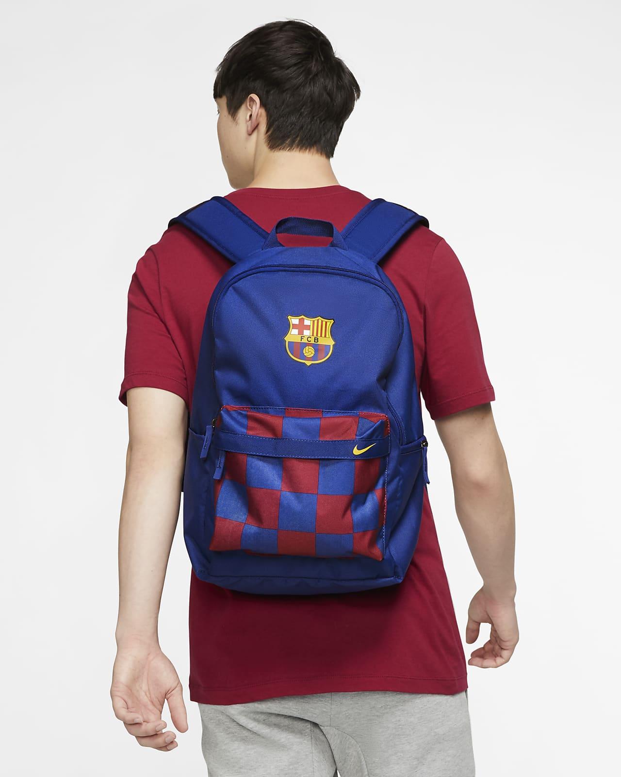 Noble Desde Isla Stewart  Mochila de futebol FC Barcelona Stadium. Nike PT