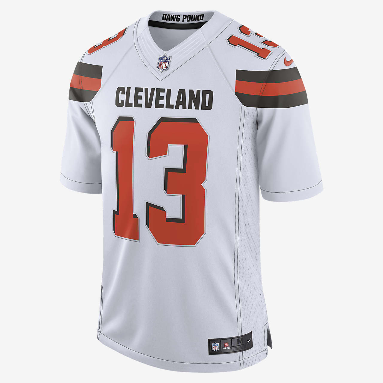 NFL Cleveland Browns (Odell Beckham Jr.) Men's Limited Football Jersey
