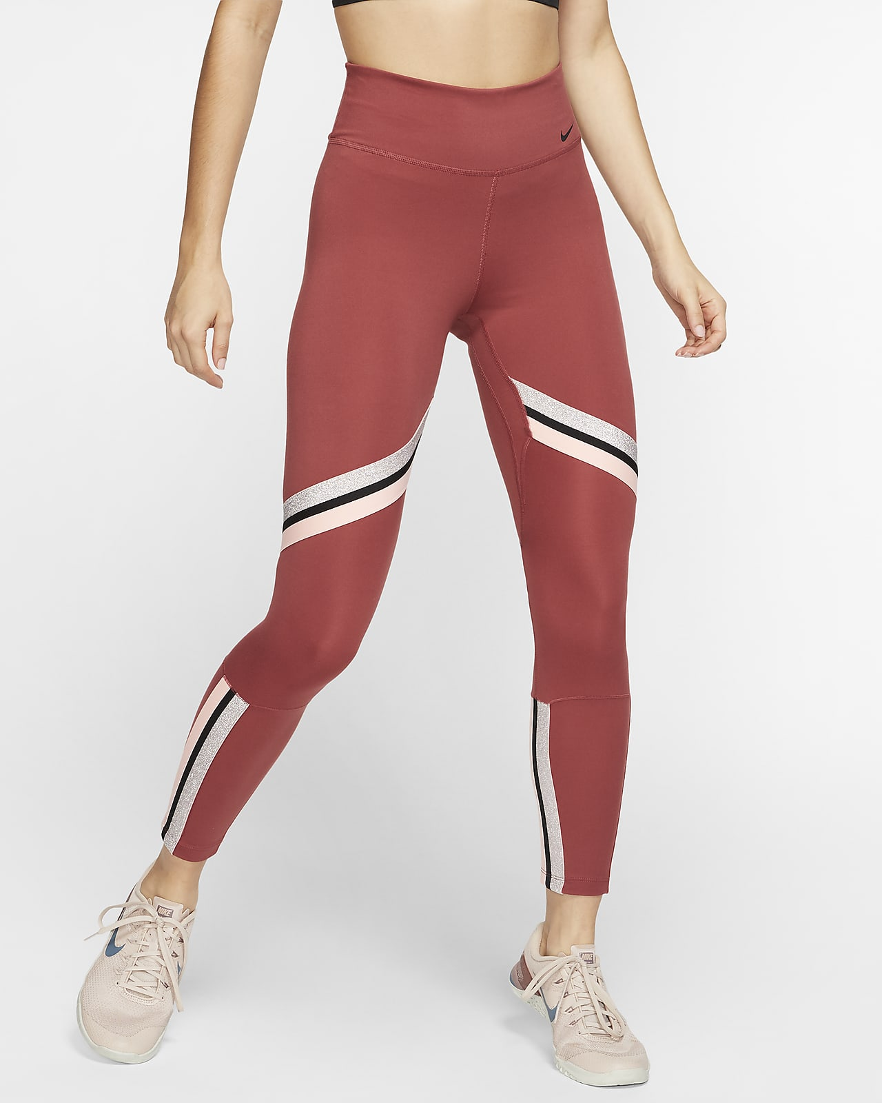 Tights a 7/8 Nike One Icon Clash - Donna