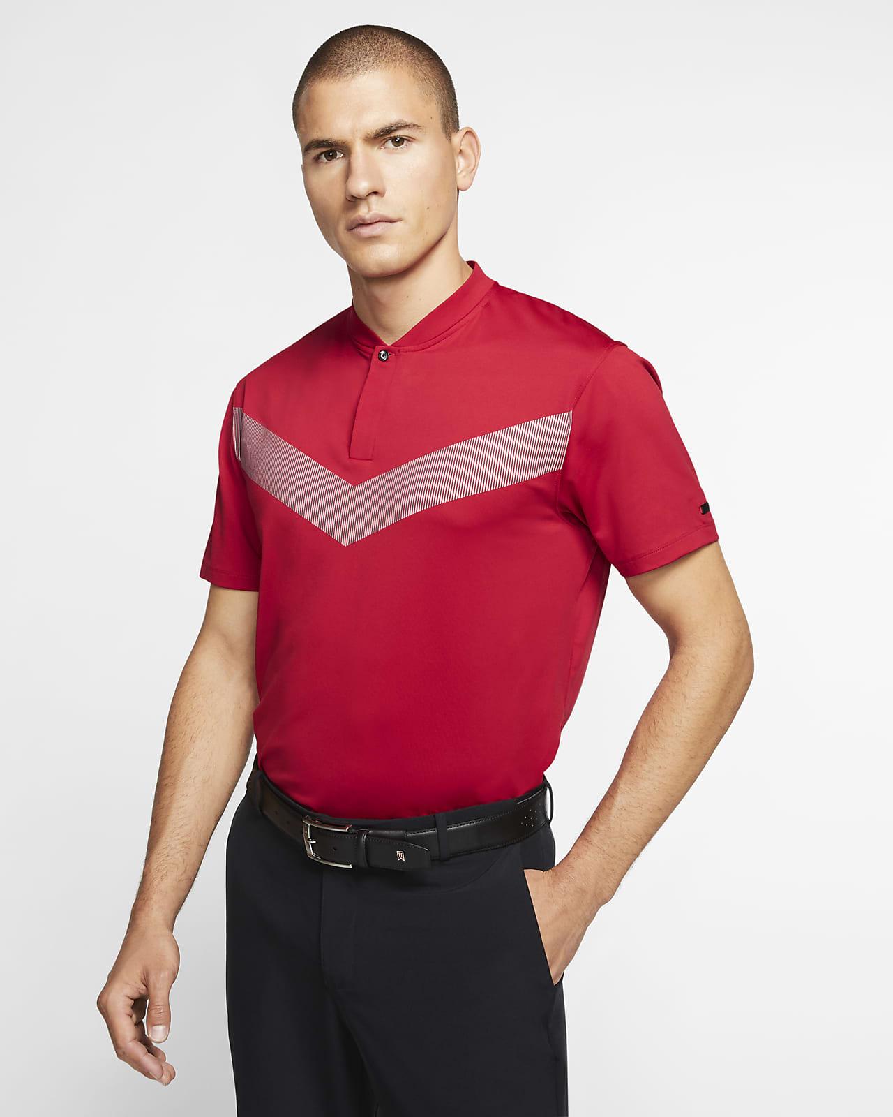 Nike Dri-FIT Tiger Woods Vapor golfskjorte til herre