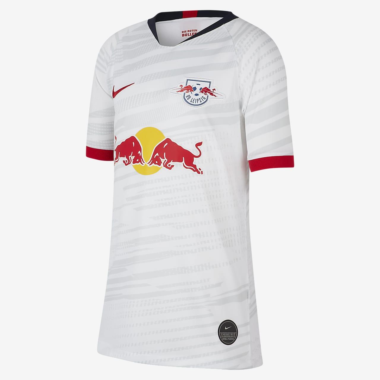 RB Leipzig 2019/20 Stadium Home Voetbalshirt voor kids